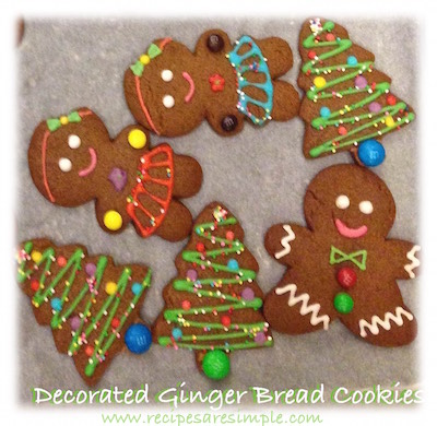 ginger bread man Gingerbread Man Recipe | Decorated with Royal Icing