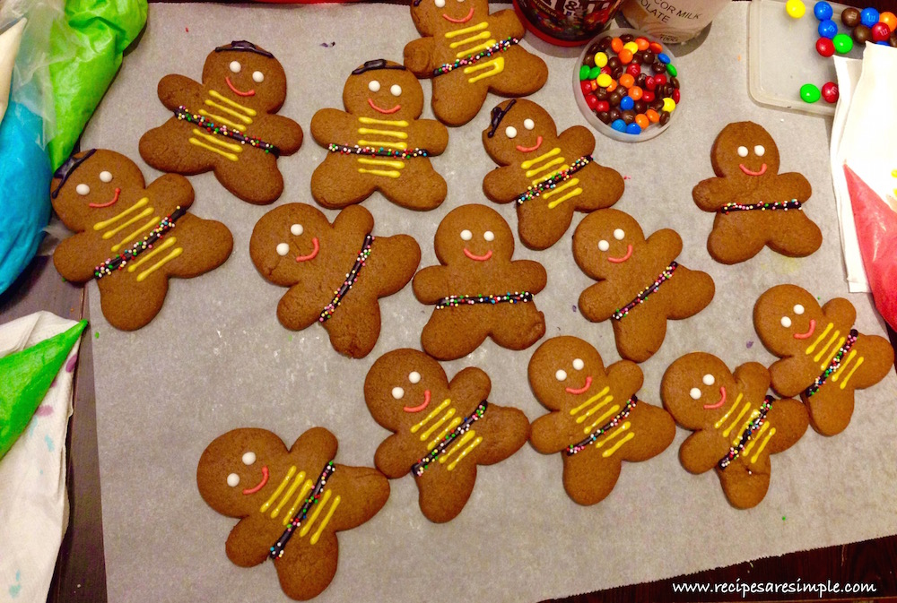 ginger bread man recipe with decoration Gingerbread Man Recipe | Decorated with Royal Icing