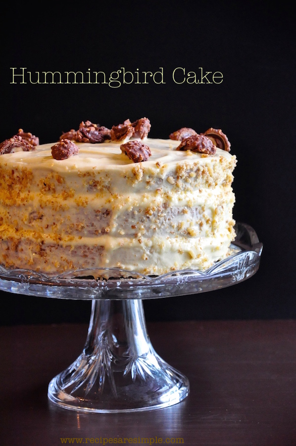 hummingbird cake Hummingbird Cake One Glorious Cake
