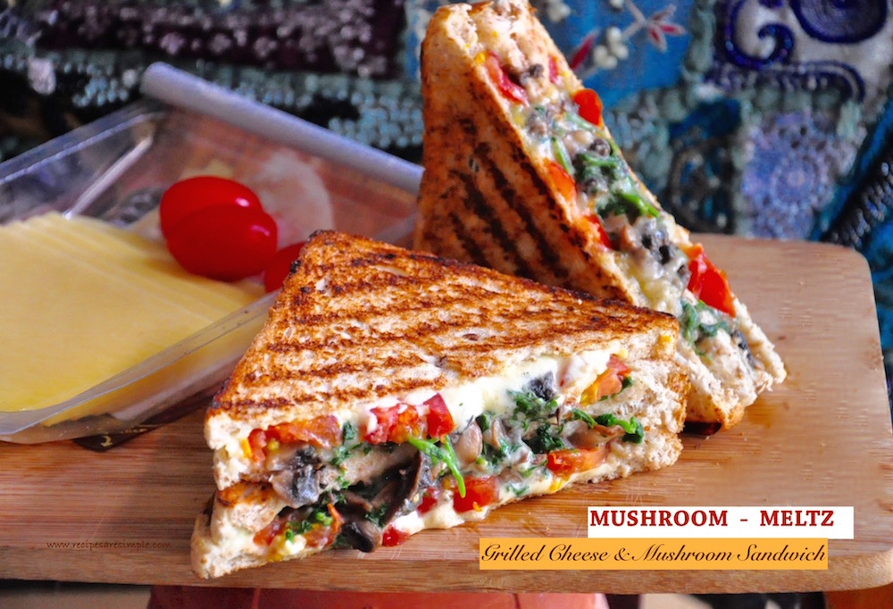 mushroom melts sandwich Mushroom Melts Sandwich | Grilled Cheese Mushroom