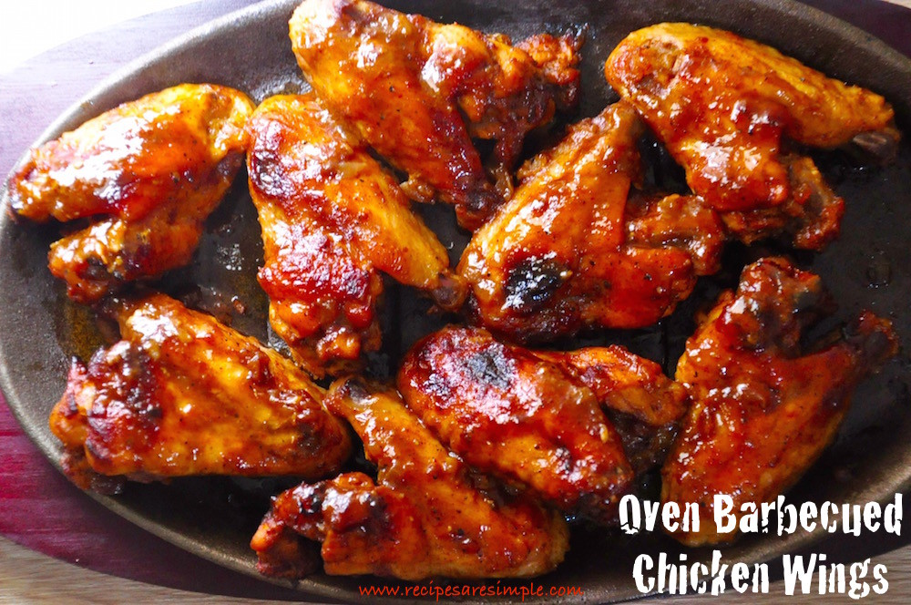 oven barbecued chicken wings 1000x664 Oven Barbecued Chicken Wings
