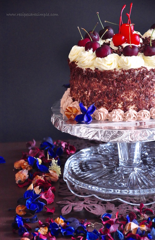 Black Forest Cake Without Alcohol Recipes R Simple