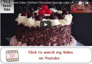 black forest cake youtube video 300x210 Shanas Black Forest Cake | Homemade and Delicious!