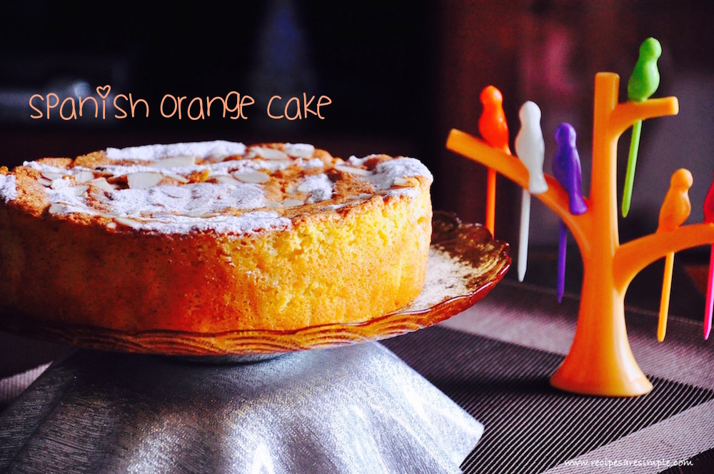 spanish orange cake Spanish Orange Cake | Gluten free and Fat free