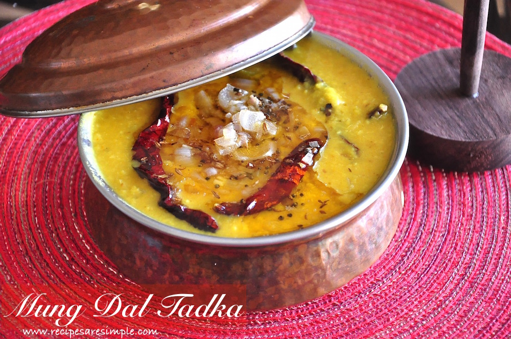 mung dal tadka Mung Dal Tadka Perfectly Cooked and Seasoned Lentils