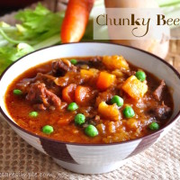 chunky beef stew 200x200 Beef & Mutton Recipes
