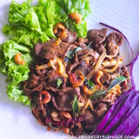 thai spicy beef with cashew recipe 200x200 Beef & Mutton Recipes