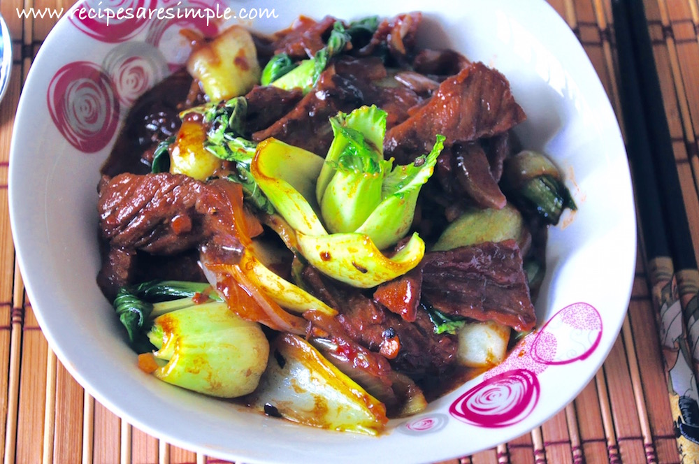 Chinese Beef Stir Fry with Vegetables recipe