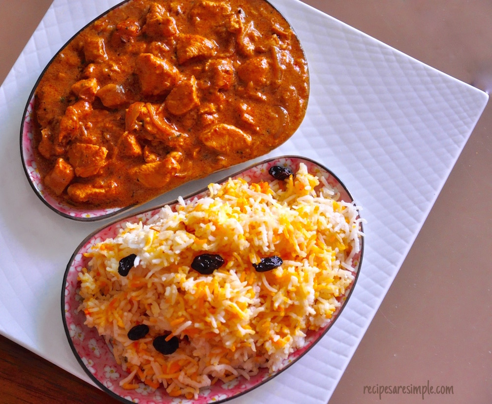 Fusion recipes archives recipes r simple butter chicken biryani recipe video butter chicken biryani singapore style easy biryani rice forumfinder Gallery