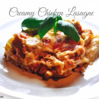 chicken lasagne 200x200 Pasta and Noodles