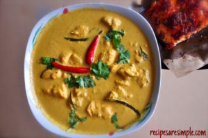 salmon curry recipe 300x199 Salmon Curry with Thai Flavors
