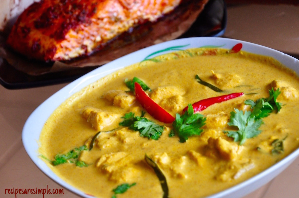 salmon curry with thai flavors Salmon Curry with Thai Flavors