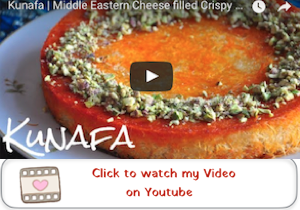 KUNAFA YOUTUBE VIDEO Kunafa | Middle Eastern Cheese filled Dessert Pastry