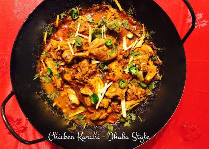 Dhaba style chicken karahi quick recipe and video dhaba style chicken karahi forumfinder Gallery