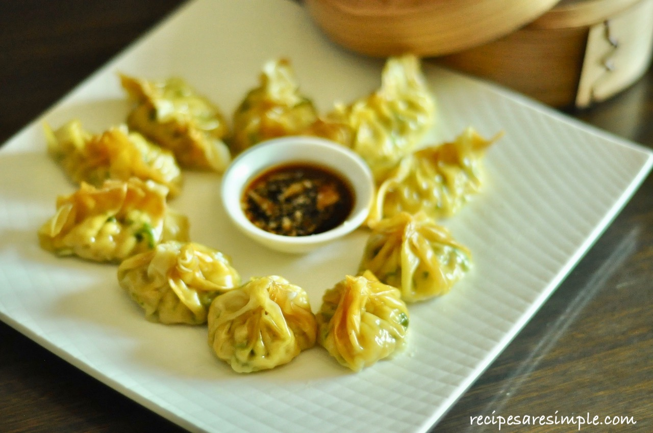 Chinese Steamed Dumplings ( Healthy choice with Chicken ...